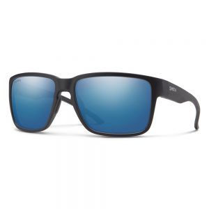okulary smith EMERGE matte black CHROMAPOP POLARIZED BLUE MIRROR
