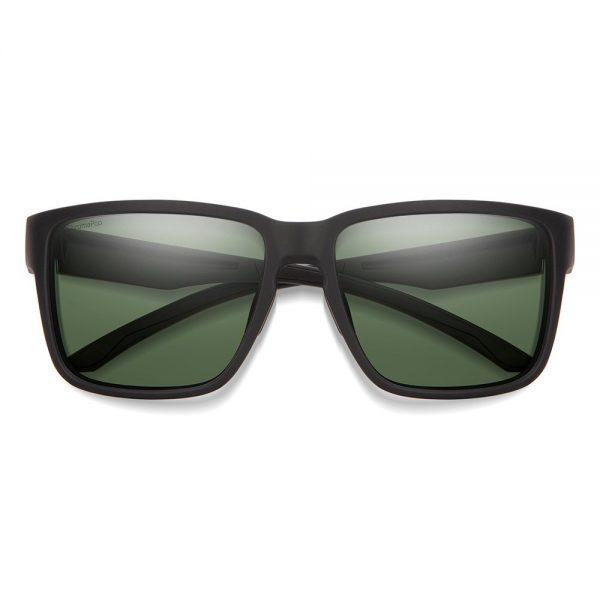 okulary smith EMERGE matte black POLARIZED GRAY GREEN