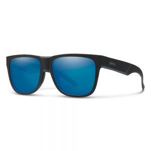 Okulary Smith LOWDOWN 2 MATTE BLACK CHROMAPOP POLARIZED BLUE MIRROR