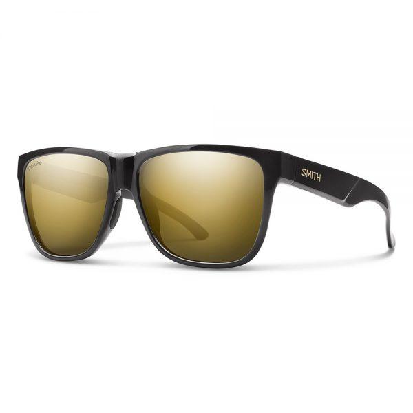 okulary smith LOWDOWN XL 2 BLACK GOLD CHROMAPOP POLARIZED BLACK GOLD