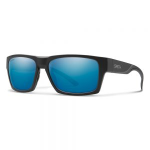 okulary smith OUTLIER 2 MATTE BLACK CHROMAPOP POLARIZED BLUE MIRROR