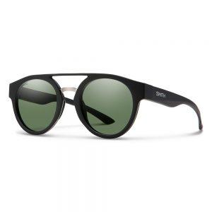 okulary smith RANGE MATTE BLACK CHROMAPOP POLARIZED GRAY GREEN