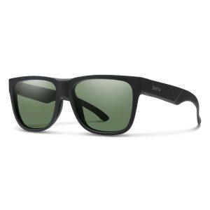 okulary smith lowdown 2 matte black chromapop polarized grey green
