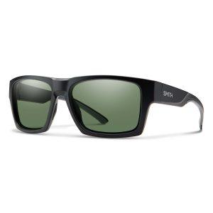 okulary smith outlier xl 2 matte black chromapop polarized grey green