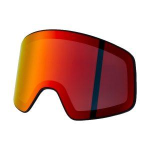 Szyba Head Horizon Smoke Lens FMR Yellow Red