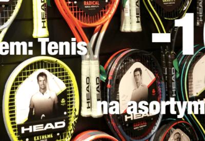 Teraz z kodem Tenis otrzymasz 10% dodatkowego rabatu