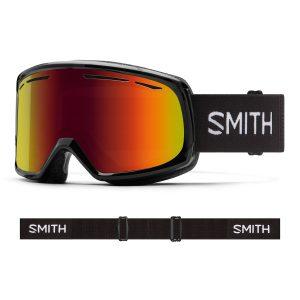 Gogle SMITH Drift Black Red Sol-X Mirror 2022