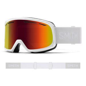 Gogle SMITH Drift White Red Sol-X Mirror 2022
