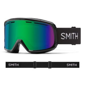 Gogle SMITH Range Black Green Sol-X Mirror 2022