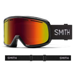 Gogle SMITH Range Black Red Sol-X Mirror 2022