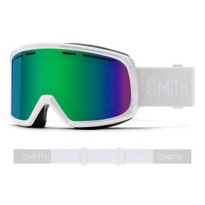 Gogle SMITH Range White Green Sol-X Mirror 2022