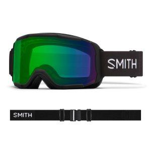 Gogle Smith Showcase OTG Black ChromaPop Everyday Green Mirror 2022