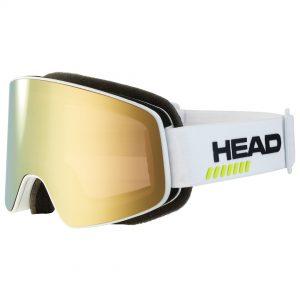 Gogle Head HORIZON 5K RACE gold white + Spare Lens 2022