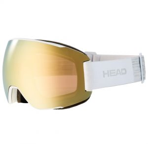 Gogle Head MAGNIFY 5K gold white + Spare Lens 2022