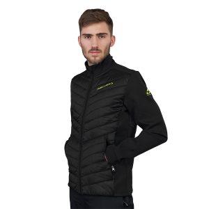 kurtka fischer jacket LEOGANG black
