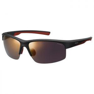 okulary polaroid pld 7018 N S black red
