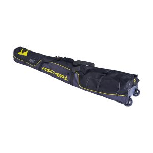 pokrowiec-na-narty fischer skicase with boot pockets alpine race wheels