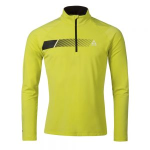 bluza fischer midlayer shirt KAPRUN yellow