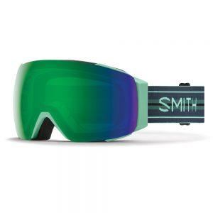 Gogle Smith I/O Mag Bermuda Stripes ChromaPop Sun Green Mirror + ChromaPop Storm Rose Flash 2022
