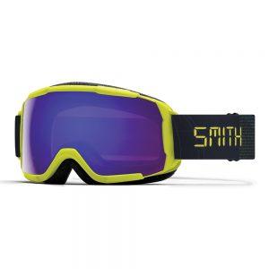 Gogle SMITH GROM Neon Yellow Digital ChromaPop Everyday Violet Mirror 2022