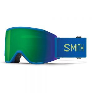 Gogle SMITH SQUAD MAG Electric Blue ChromaPop Sun Green Mirror + Storm Rose Flash 2022