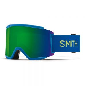Gogle SMITH SQUAD XL Electric Blue ChromaPop Sun Green Mirror + ChromaPop Storm Yellow Flash 2022