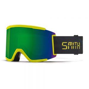 Gogle SMITH SQUAD XL Neon Yellow Digital ChromaPop Sun Green Mirror + ChromaPop Storm Yellow Flash 2022