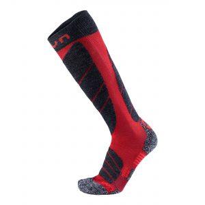 skarpety uyn man ski magma socks dark red anthracite